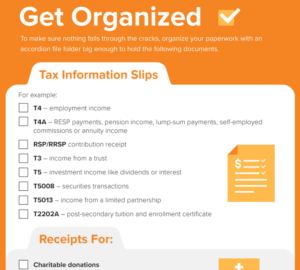 Simple Tax Checklist